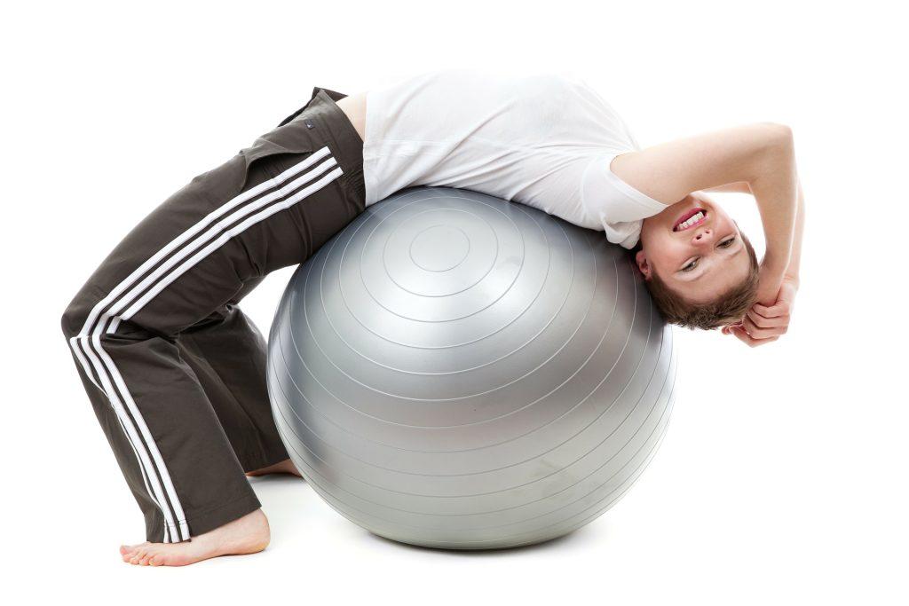 FitBall pentru muschii abdominali și spate